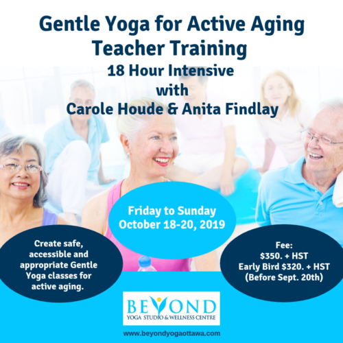 Gentle Yoga for Active Aging Teacher Training |
