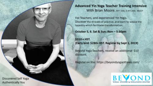 Advanced Yin Yoga Teacher Training Intensive  